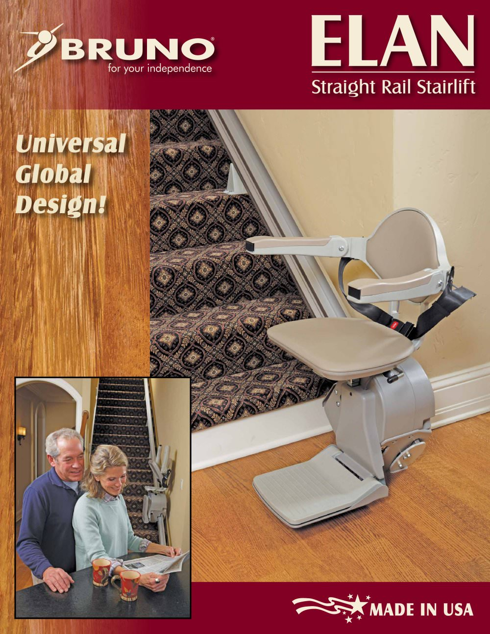 Stairlifts:Elan Model SRE-3000 - 1 / 4 Pages