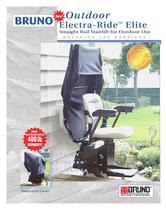 Straight Rail Stairlift for Outdoor Use