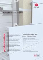 Kalzip FC fa&ccedil;ade system 