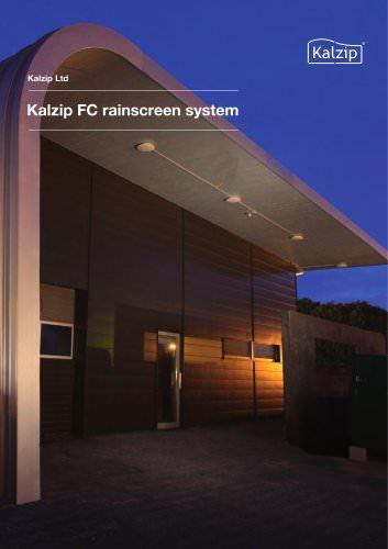 Kalzip FC rainscreen system 2011
