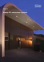 Kalzip FC rainscreen system