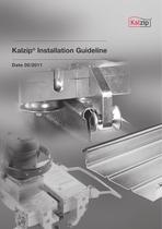 Kalzip Installation Guideline