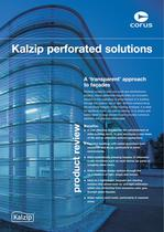Kalzip perforated solutions