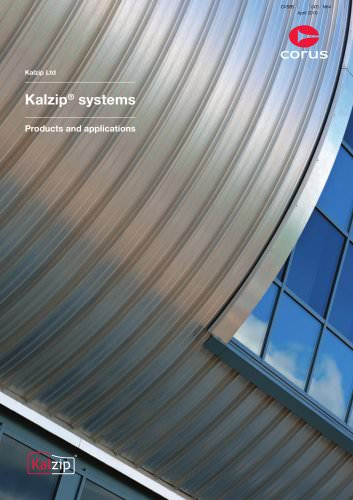 Kalzip systems, products and applications