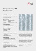 Kalzip&reg; vapour layer FR