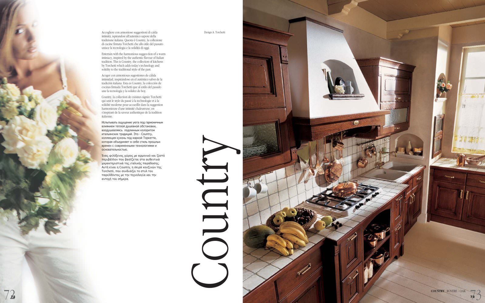 Country torchetti cucine pdf catalogues documentation
