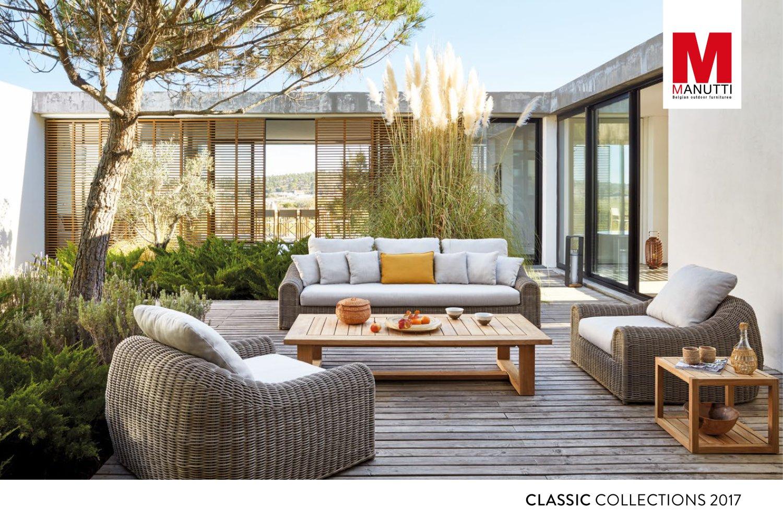 Manutti Classic Catalogue 2017 Manutti Pdf Catalogues Rh Pdf Archiexpo Com  Outdoor Furniture Catalog Pdf