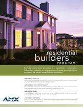 Residdential builders program