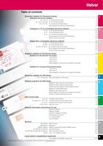 Components catalogue 2012