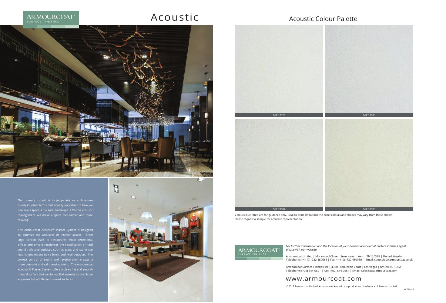 armourcoat acoustic armourcoat usa pdf catalogues
