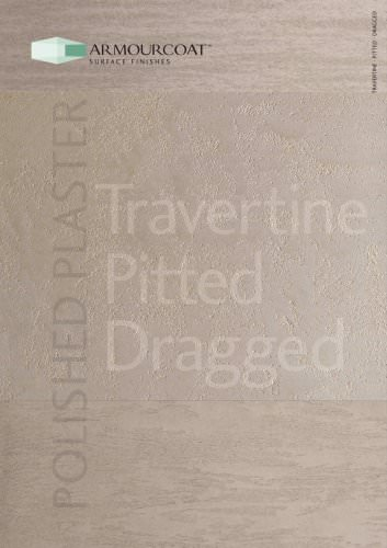 Travertine - Pitted - Dragged