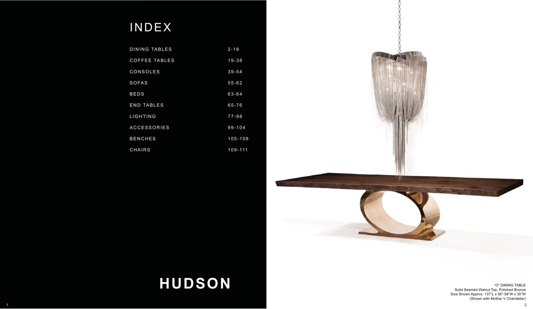 HUDSON FURNITURE  Catalogue     1 / 57 Pages