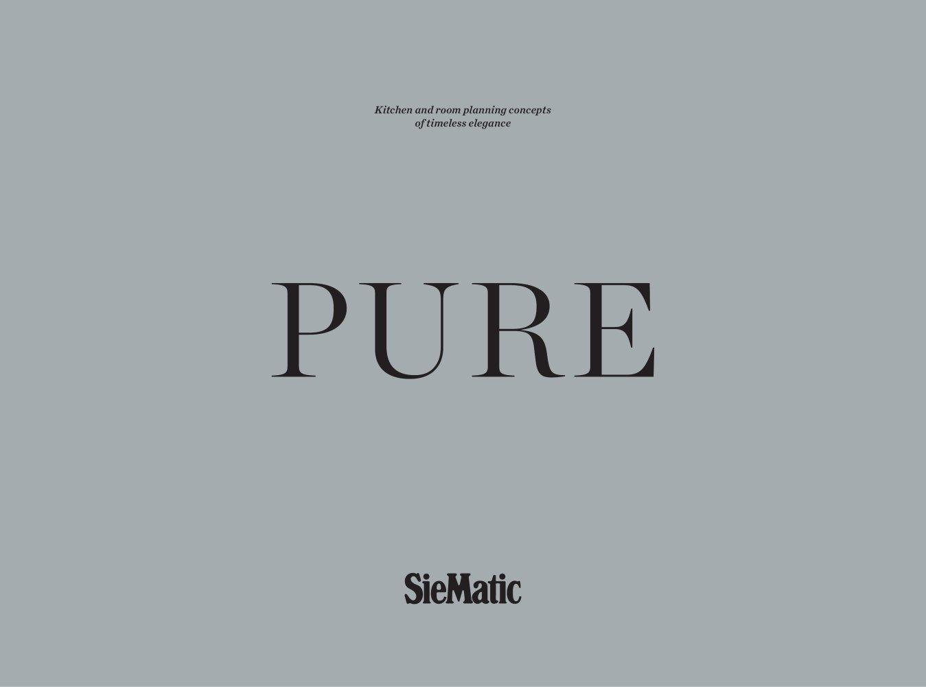Pure - SIEMATIC - PDF Catalogues | Documentation | Brochures