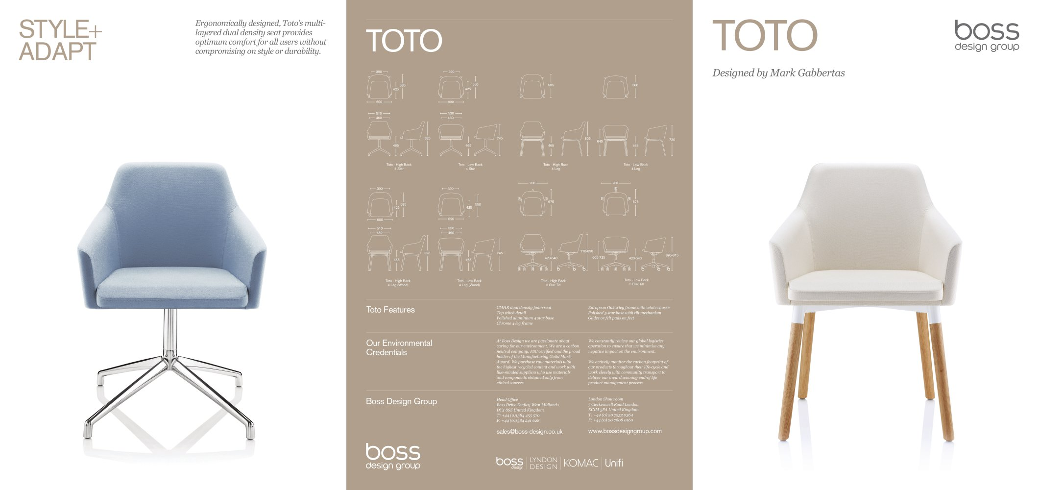 Toto - Boss Design - PDF Catalogues | Documentation | Brochures