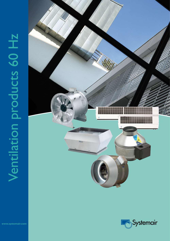 Systemair ventilationsaggregat