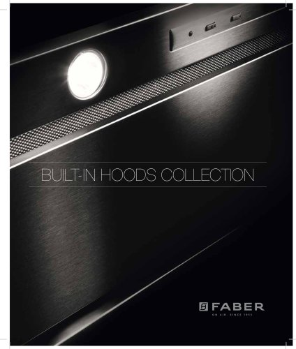 BUILT-IN HOODS COLLECTION