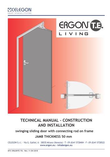 CELEGON - Ergon Living TE - Technical Manual EN-rev11 - Celegon