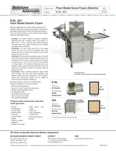 618L Donut Fryer (Electric)
