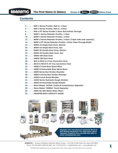 ADAMATIC Catalog