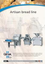 Artisan bread line