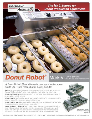 Donut Robot® Mark VI