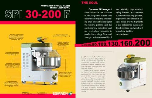 Esmach SPI 30-200 F Mixer Series