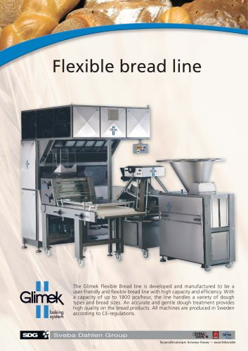 Flexible bread line