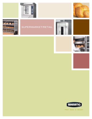 Supermarket/Retail brochure