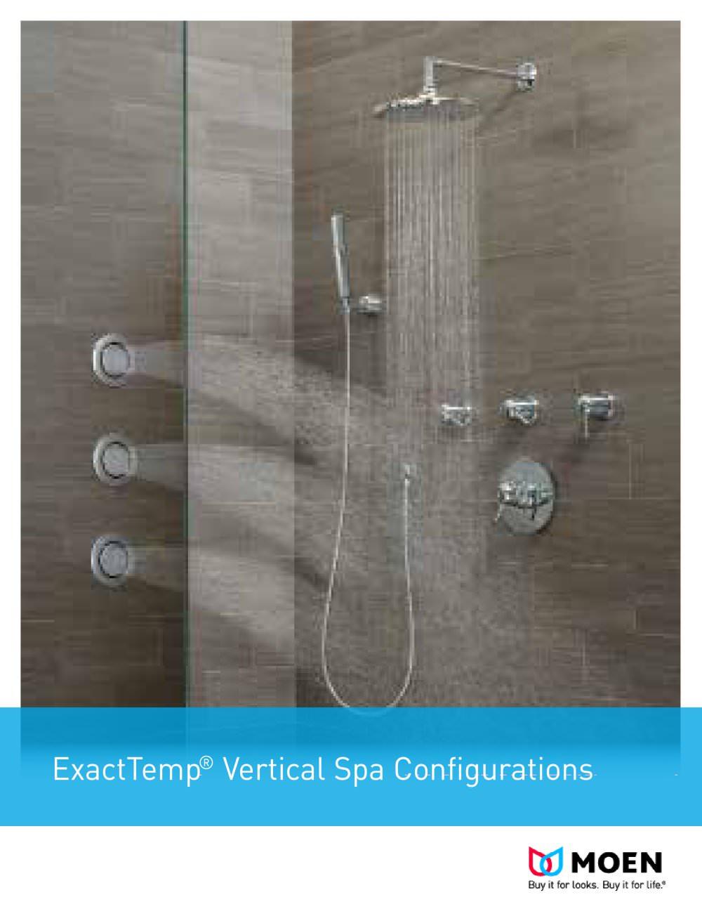ExactTemp Vertical Spa Configurations - Moen - PDF Catalogues ...