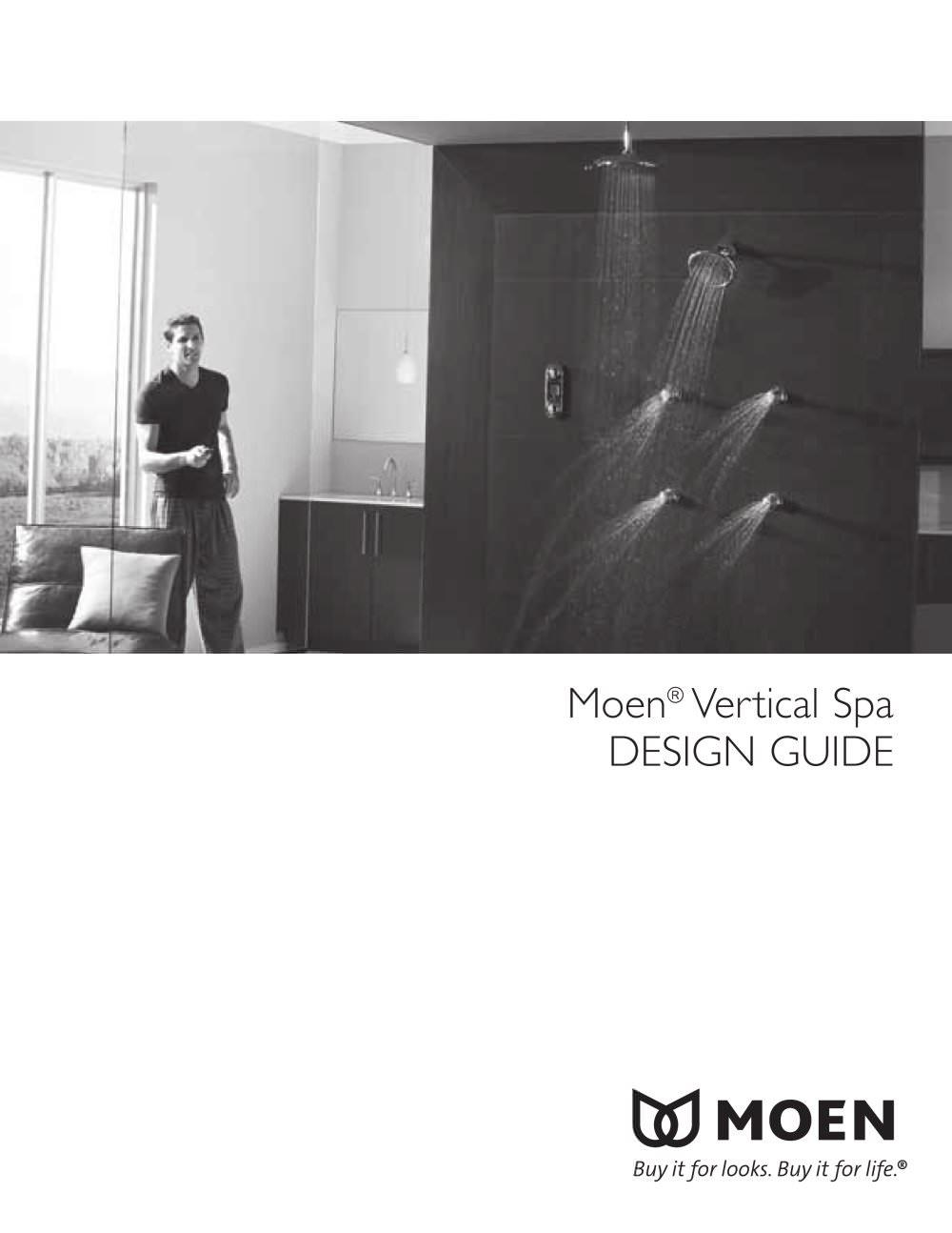 Moen® Vertical Spa DESIGN GUIDE - Moen - PDF Catalogues ...