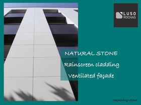 Rainscreen ventilated façade