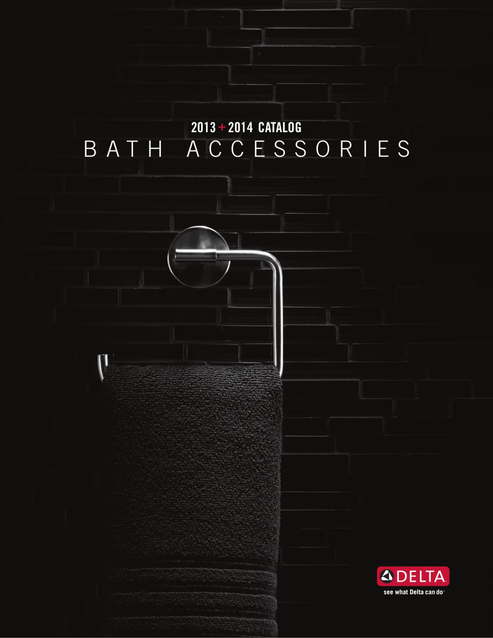 2013 2014 bath accessories catalog dl 1811 1 48 pages - Bathroom Accessories Delta