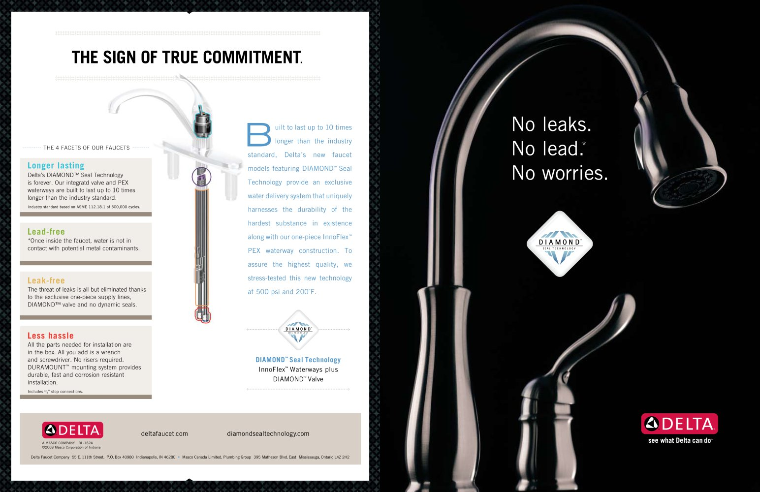 Diamond™ Seal Technology - Delta - PDF Catalogues   Documentation ...