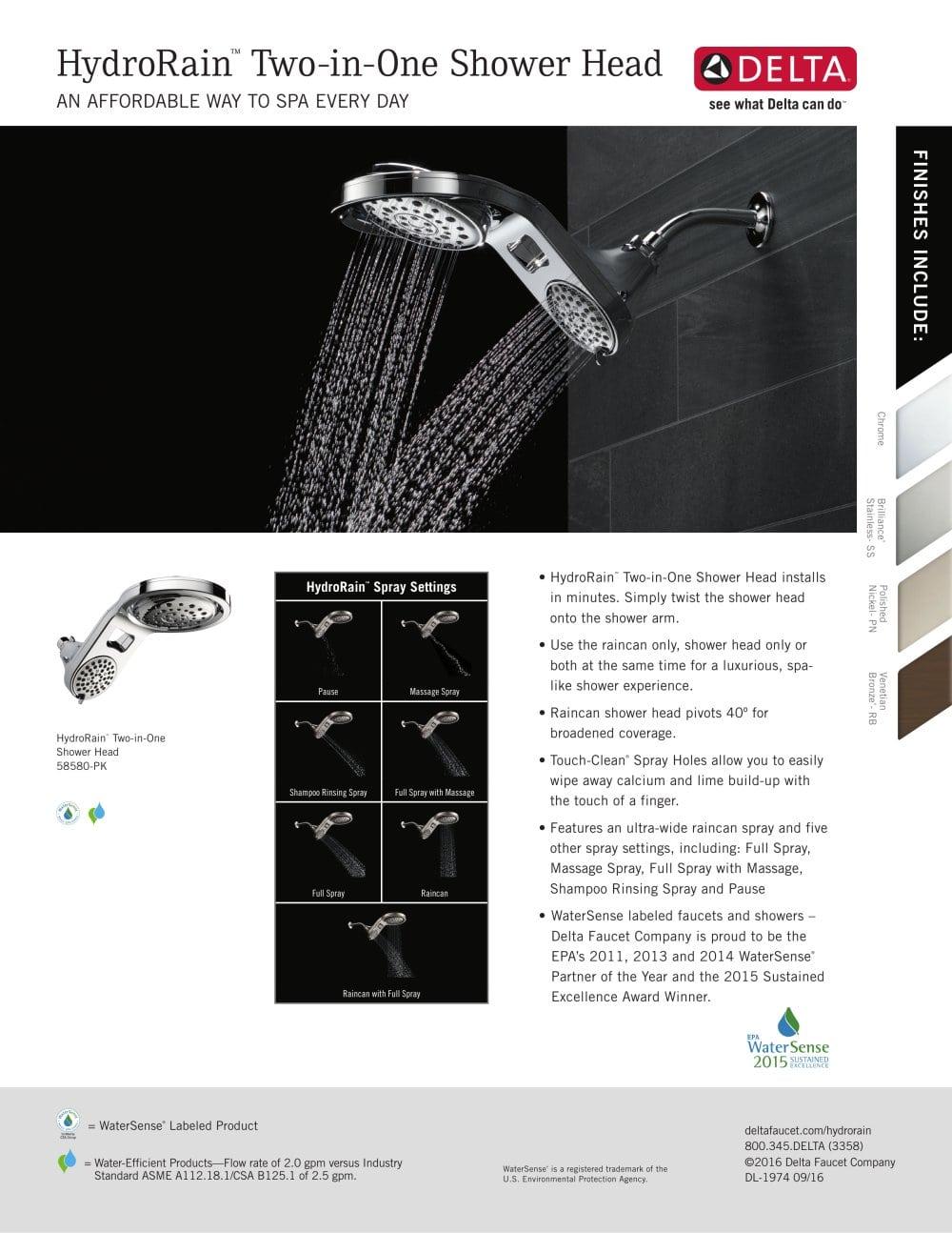 Hydrorain Sell Sheet - Delta - PDF Catalogues | Documentation ...