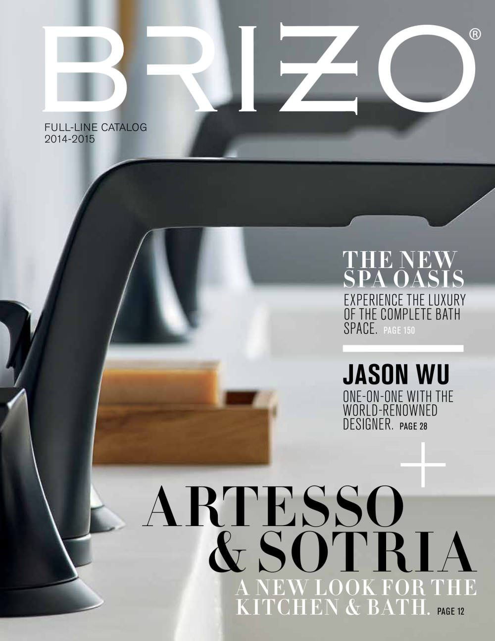 Brizo Full-line Catalog 2014-2015 - Brizo - PDF Catalogues ... on kitchen in a brick wall background, kitchen ideas with red brick, kitchen brick used in primary colors, kitchen designs with brick walls,