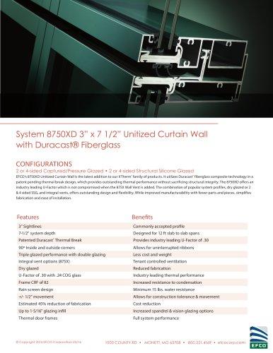 System 8750XD - EFCO - PDF Catalogs | Documentation | Brochures