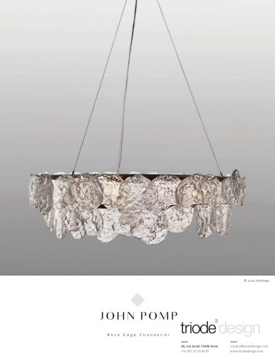 Rock Edge Chandelier