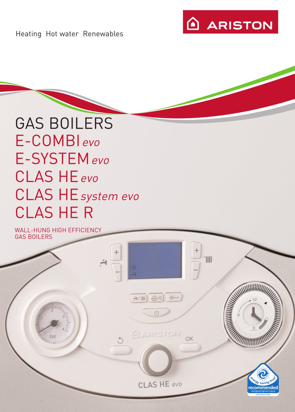 Gas Boiler - Ariston - PDF Catalogues | Documentation | Brochures