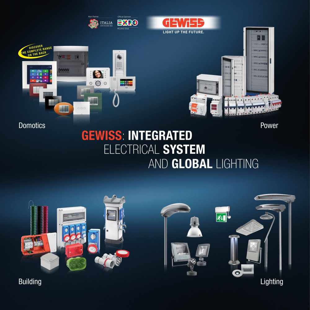 GEWISS: INTEGRATED ELECTRICAL SYSTEM AND GLOBAL LIGHTING - GEWISS ...