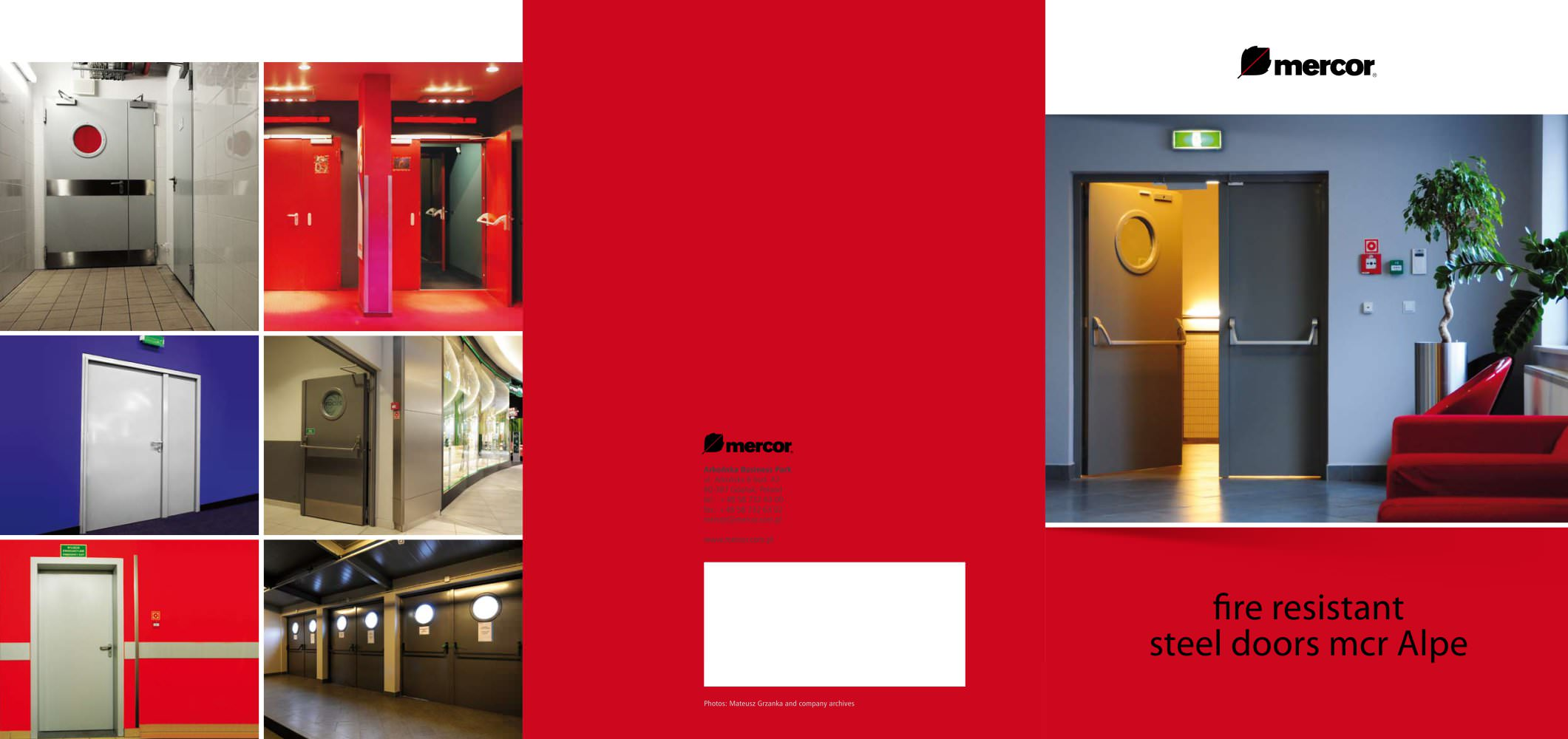 Awesome Steel Doors Mcr Alpe Brochure Mercor Pdf Catalogues Largest Home Design Picture Inspirations Pitcheantrous
