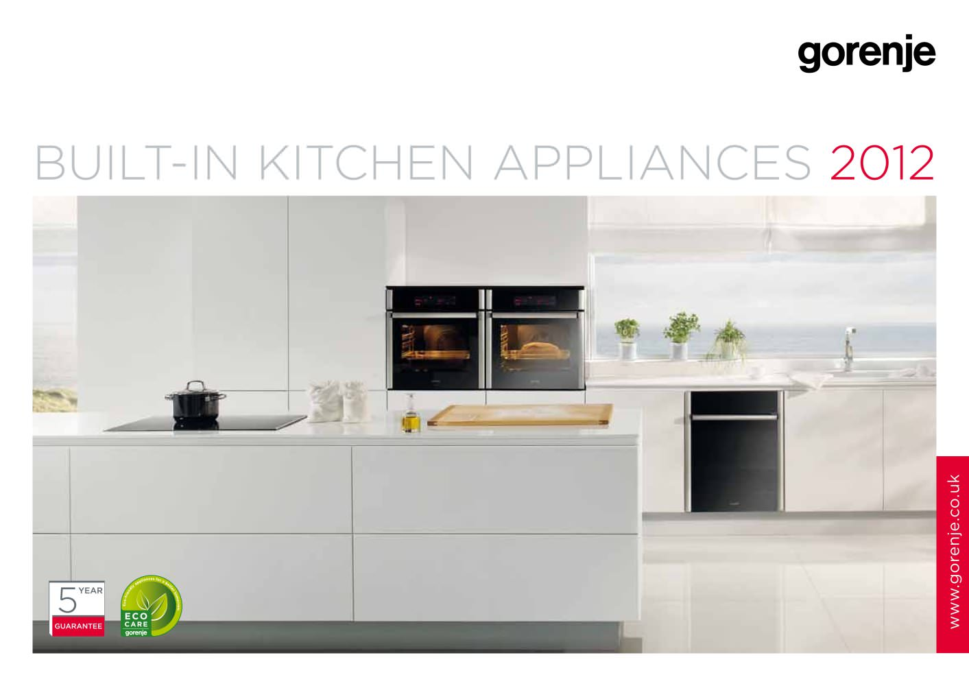 Catalogue Built-in kitchen appliances 2012 - GORENJE - PDF ...