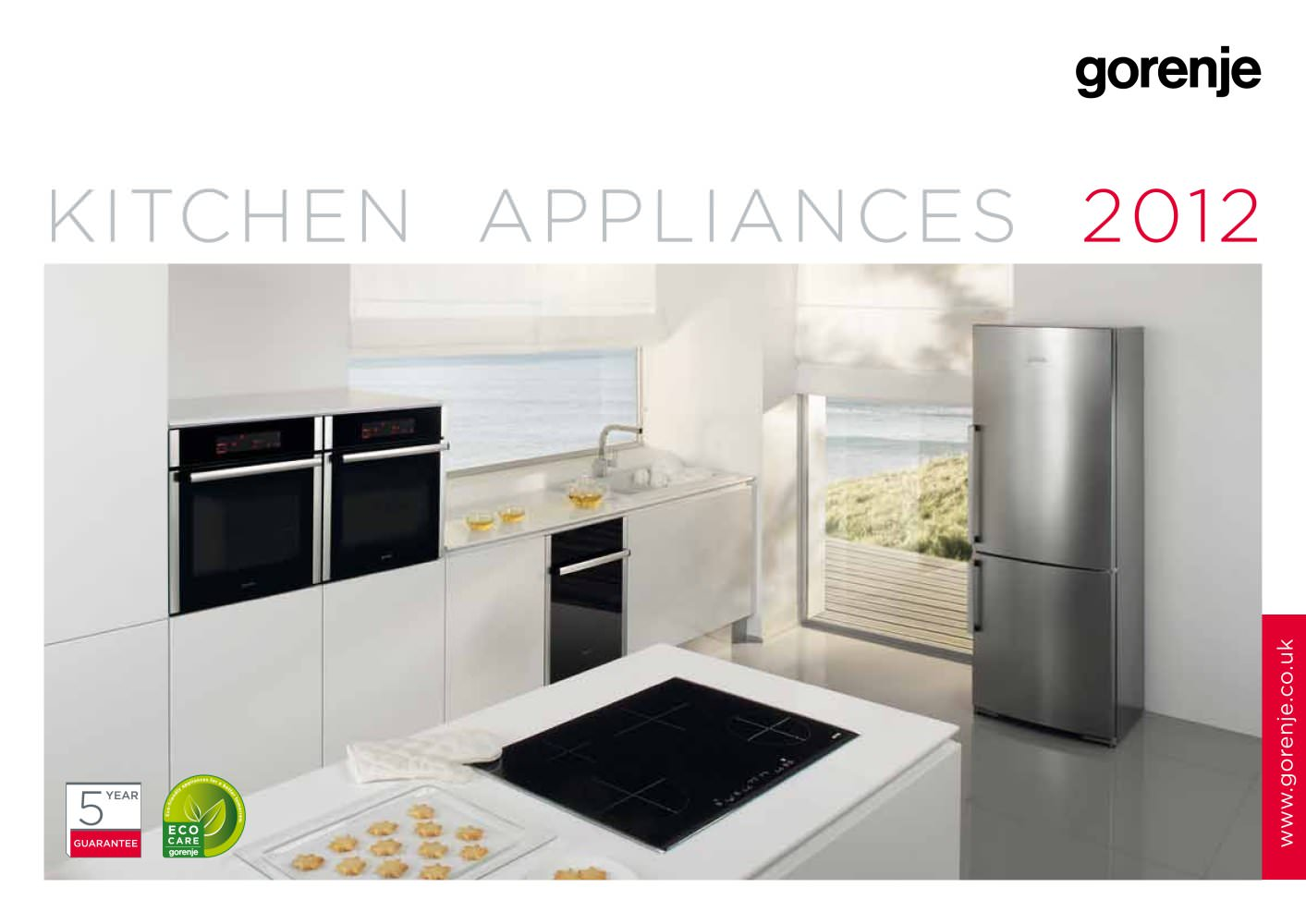 catalogue Kitchen appliances 2012 - GORENJE - PDF Catalogues ...