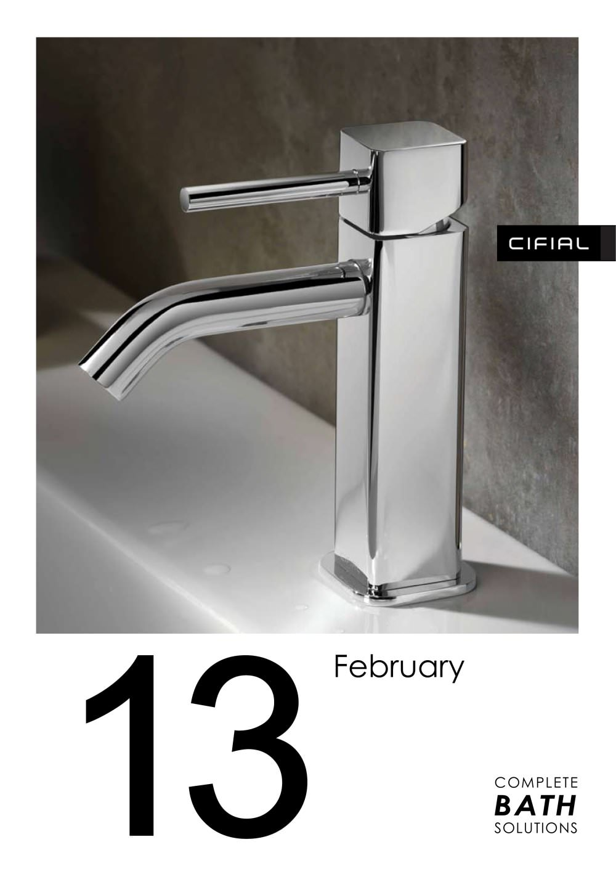 Bathroom Fittings Cifial Pdf Catalogues Documentation