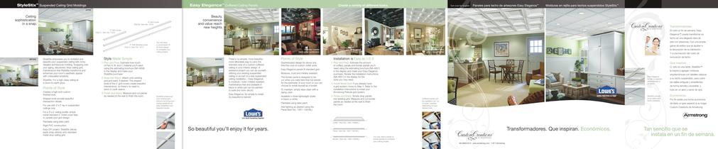 Custom Creations Brochure