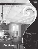 Easy Elegance Ceiling Panel Estimating & Installation Guide
