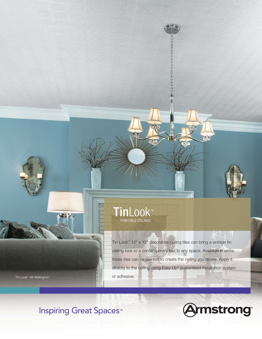 Tinlook Decorative Ceiling Tiles 1 2 Pages