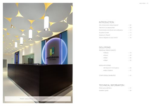Island Ceilings - Brochure