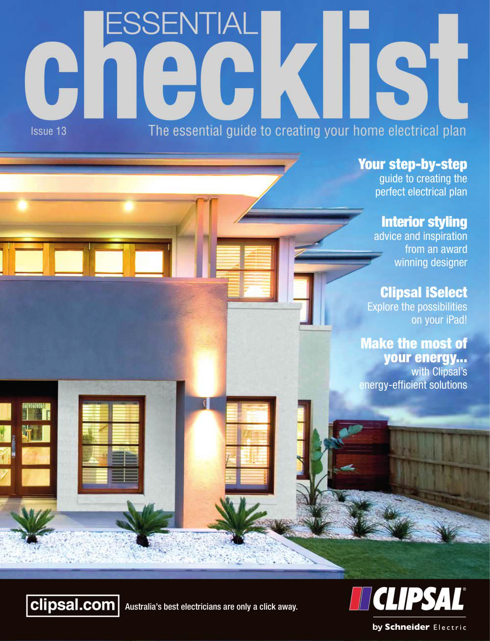 2013 Essential Checklist The Guide To Creating Your Home Clipsal Wiring Devices Philippines Electrical Plan 1 112 Pages