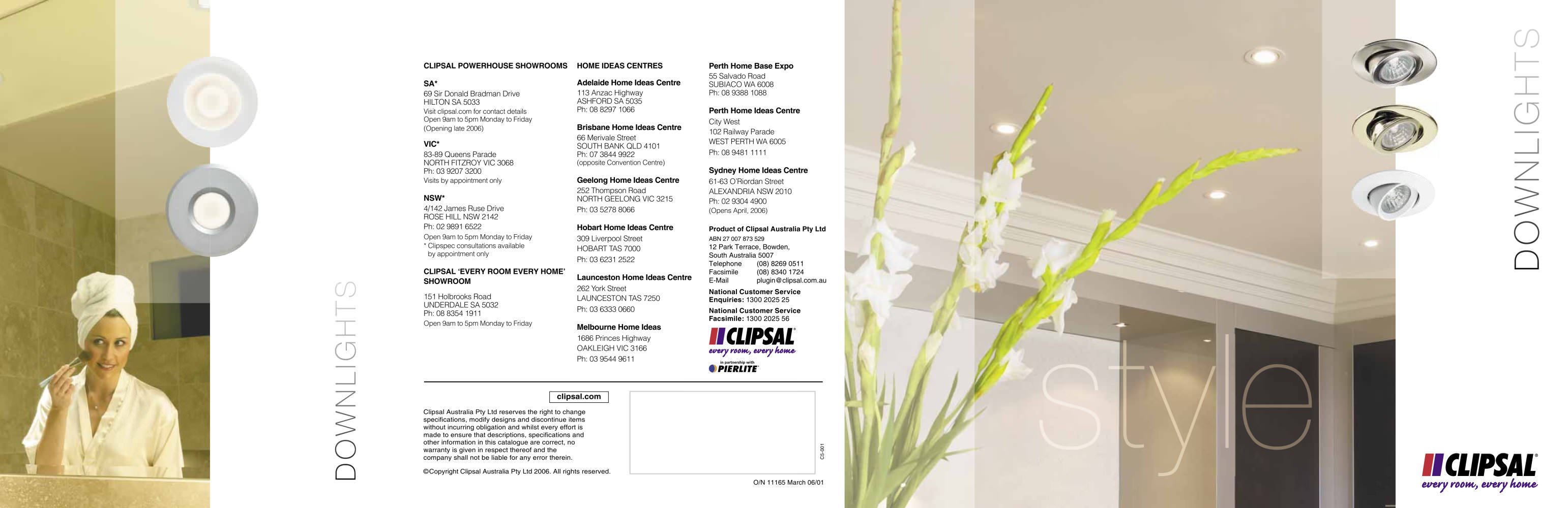 Clipsal Downlights overview - Clipsal - PDF Catalogues ...