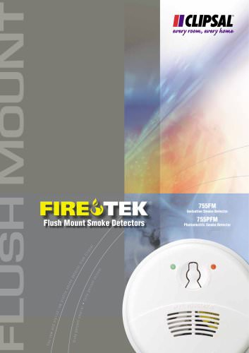 Firetek Fulsh Mounted Smoke Detectors